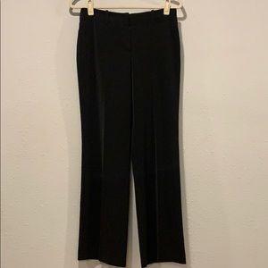 WHBM black wide leg pants, Sz 4S